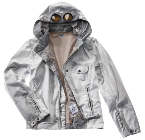 FROSTED NYLON DOWN GOGGLE JACKET