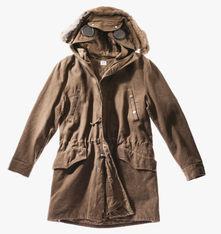 COTTON-HEMP EXPLORER PARKA