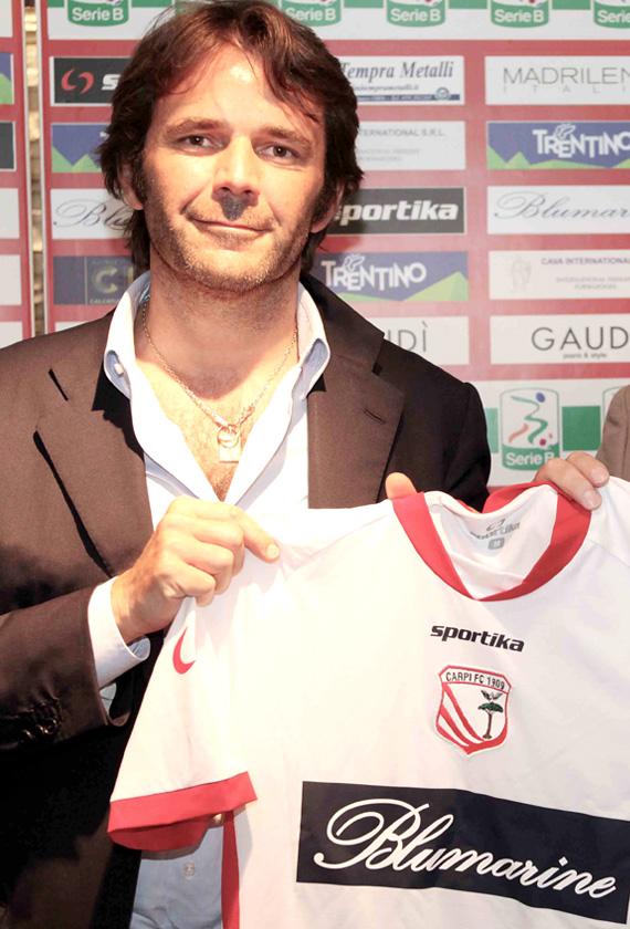PRESENTAZIONE DELLA NUOVA MAGLIA CARPI FC
