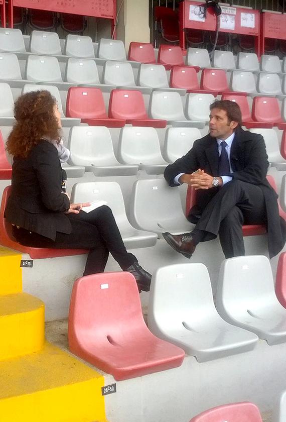 Gianguido  Tarabini intervistato da Sky Sport 24