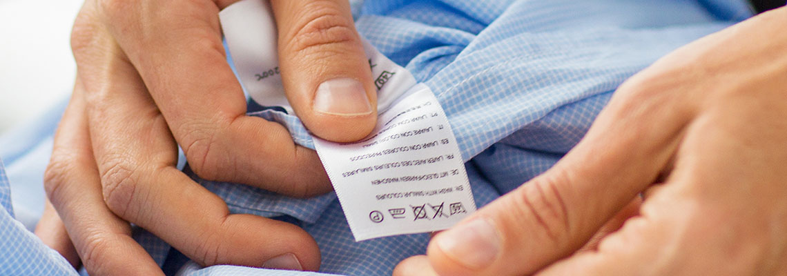 How to read laundry care labels.