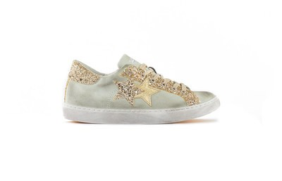 SNEAKER LOW ICE-GOLD