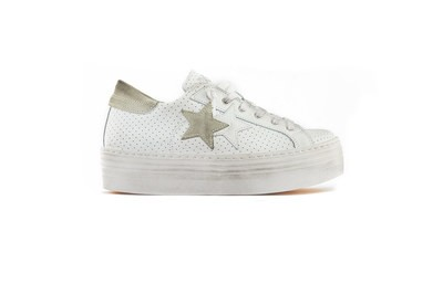 SNEAKER LOW HIGH SOLE WHITE-ICE