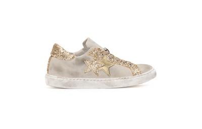 Low sneakers beige-gold