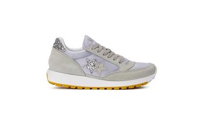 Sneaker running white- silver- ice white