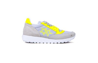 SNEAKER LOW ICE- FLUO YELLOW