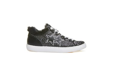 LOW SNEAKER BLACK-SILVER