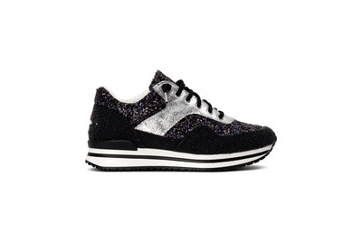 Sneaker low black/ silver