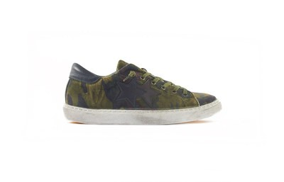 SNEAKER LOW CAMOUFLAGES VERDE