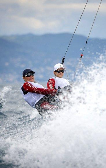 Alice Sinno and Francesca Bergamo sail towards Tokyo 2020