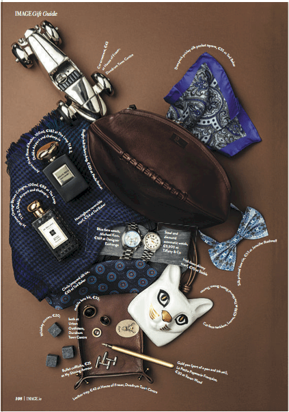 Image 'A Cinderella Story'<br><br> Photographed by Ethan Hart & Styled by Olivia Keating featuring our Rugby Ball Toiletry Bag