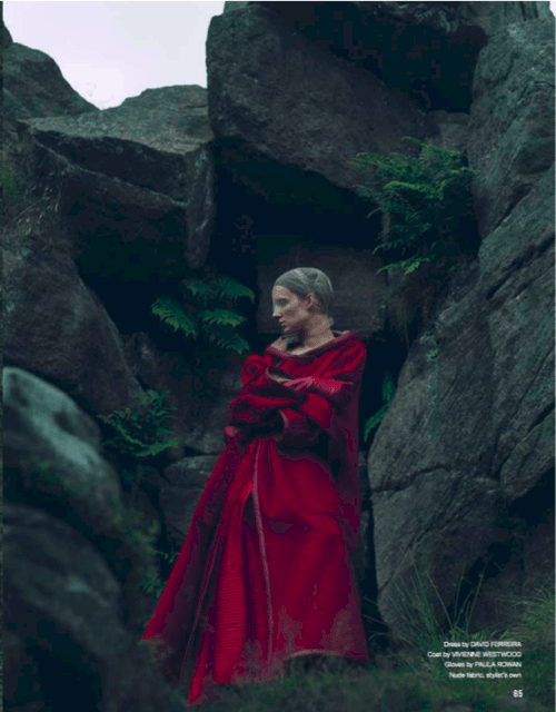 Red Thread Magazine <br> Featuring my 'Montserrat 8BT' glove. Styled by Beth Buxton & Photography by Petros