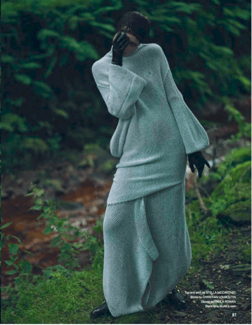 Red Thread Magazine <br> Featuring my 'Renee' glove. Styled by Beth Buxton & Photography by Petros