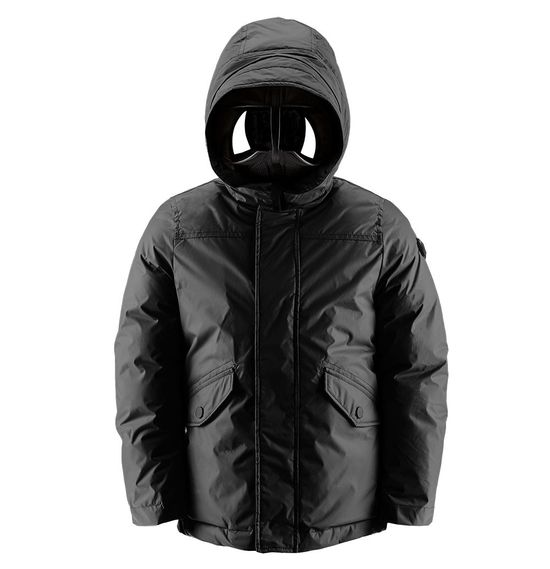 Boy down jacket two-coloured
