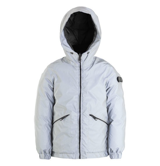 Boy's down jacket reversible