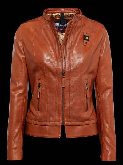 ICON LEATHER BIKER