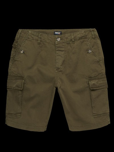 POCKETED BERMUDA SHORTS