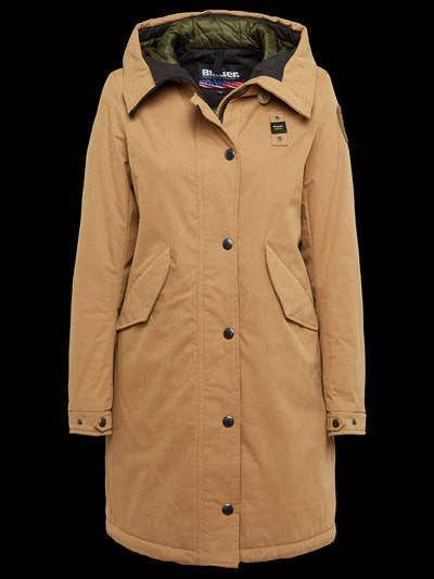 GABARDINE WINTER PARKA