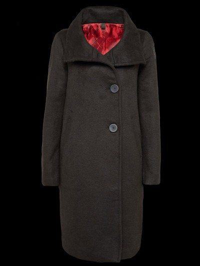 WOOL VELOUR COAT