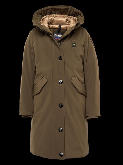 PARKA IN SOFT SHELL