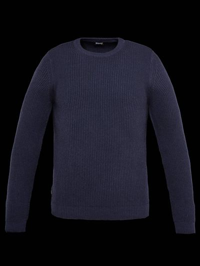 RIBBED WOOL SWEATER