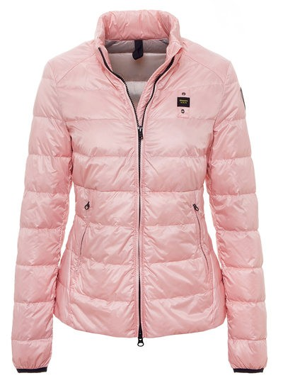 DOWN JACKET WITH MANDARIN COLLAR