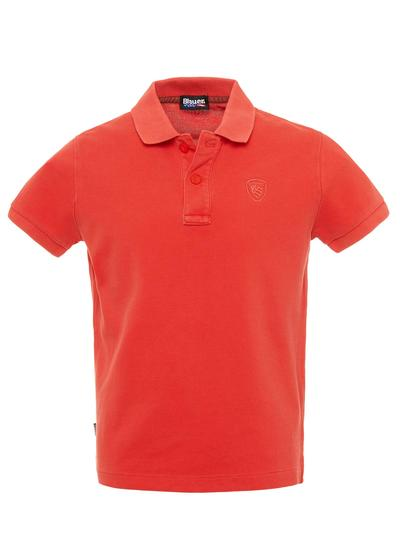 JUNIOR POLO WITH EMBROIDERED LOGO