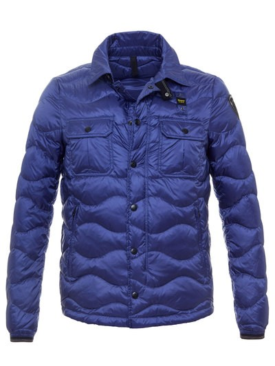 WAVE-QUILTED JACKET