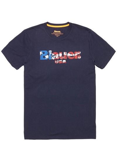 T-SHIRT BLAUER USA ACADEMY