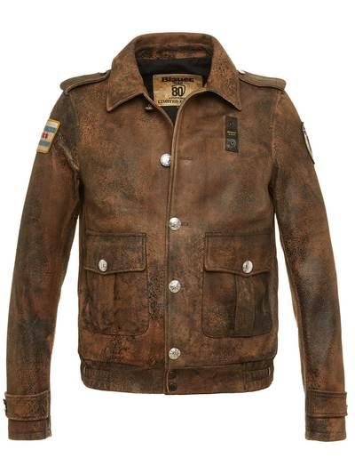 80th ANNIVERSARY LEATHER JACKET