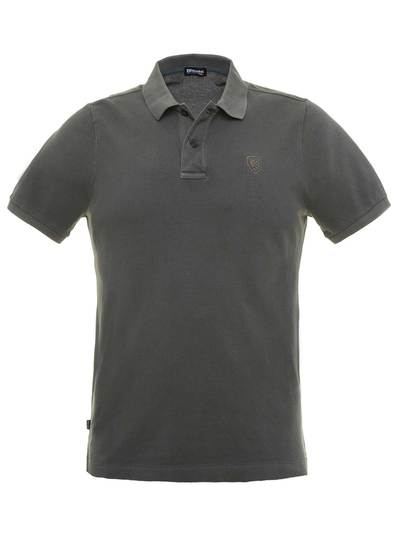 POLO WITH EMBROIDED LOGO