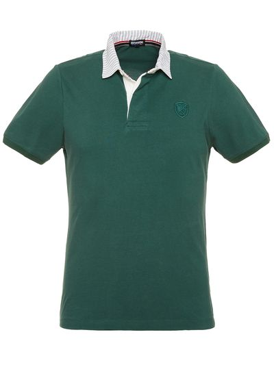 POLO SHORT SLEEVE FABRIC COLLAR
