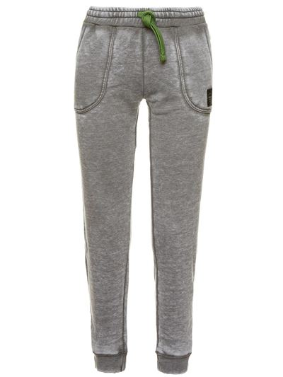 TROUSERS IN BURNOUT FLEECE