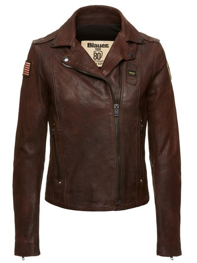 JACKET IN VINTAGE LEATHER 80 LIMITED EDITION