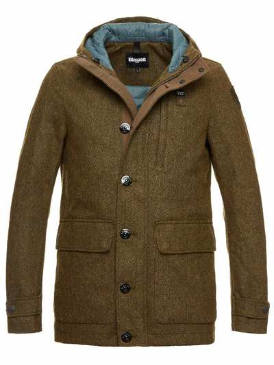 DUFFLE-COAT EN LAINE LINCOLN