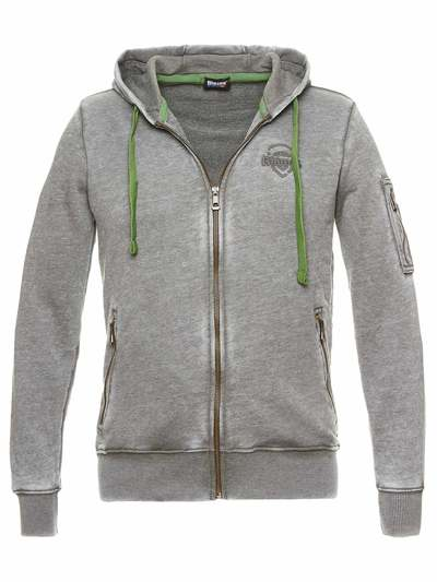 BURNOUT SWEATSHIRT WITH HOOD