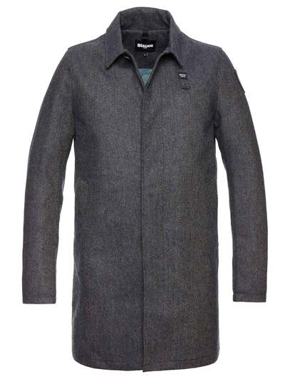 ASHER PADDED WOOL COAT