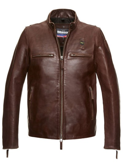 LEATHER COLORADO JACKET