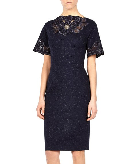 Macramé lace Appliqued Dress