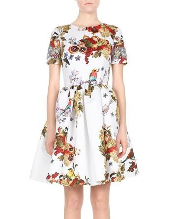 Crystal Embellished Duchesse Dress