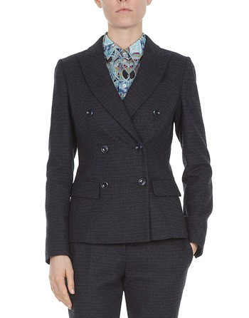 Pied-de-poule Checked Jacket