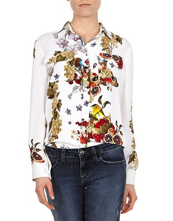 Fruits And Flowers Blouse