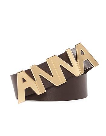 "Cintura In Pelle ""anna"""