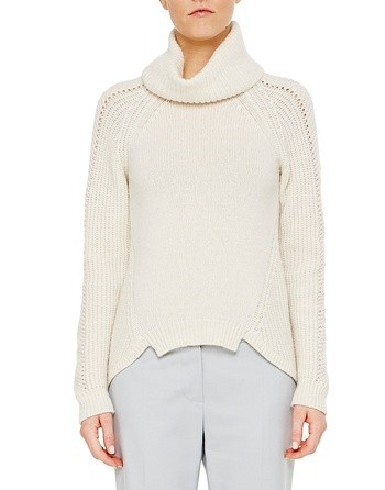 Wool And Cashmere Over-sized Jumper