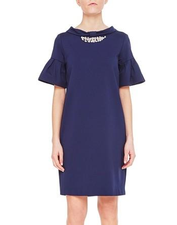 Rome Stitch Jersey Dress
