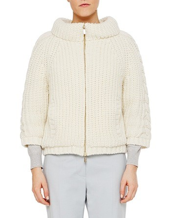 Padded Knit Jacket