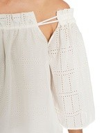 Oversized Cotton Blouse and Borderie Anglaise