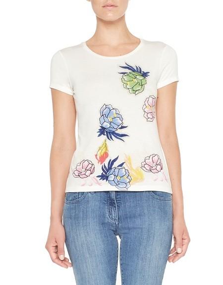 T-shirt Stampa Fiori