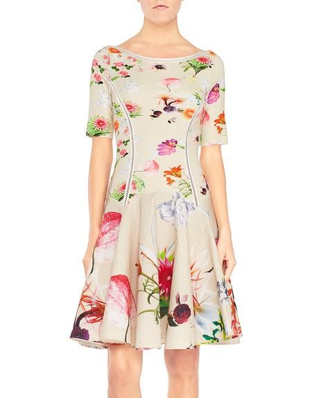 Floral Print Knit Dress