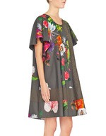 Floral Print Cotton Dress